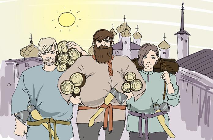 иллюстрация руси
