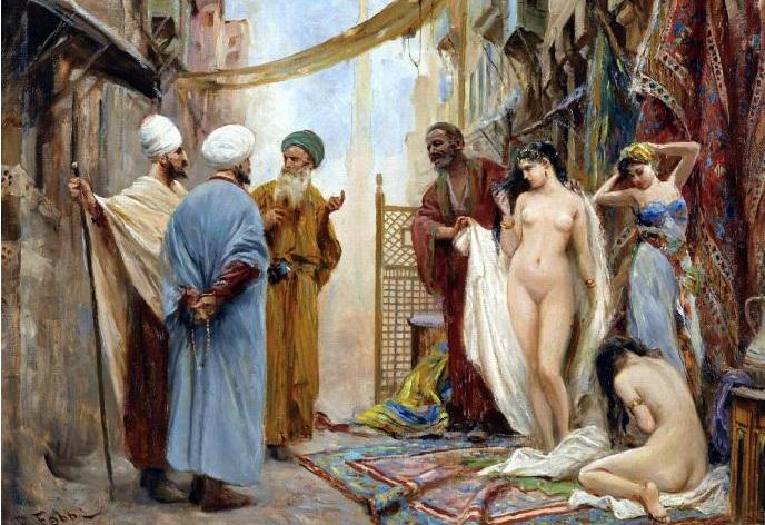 русские рабыни в Европе